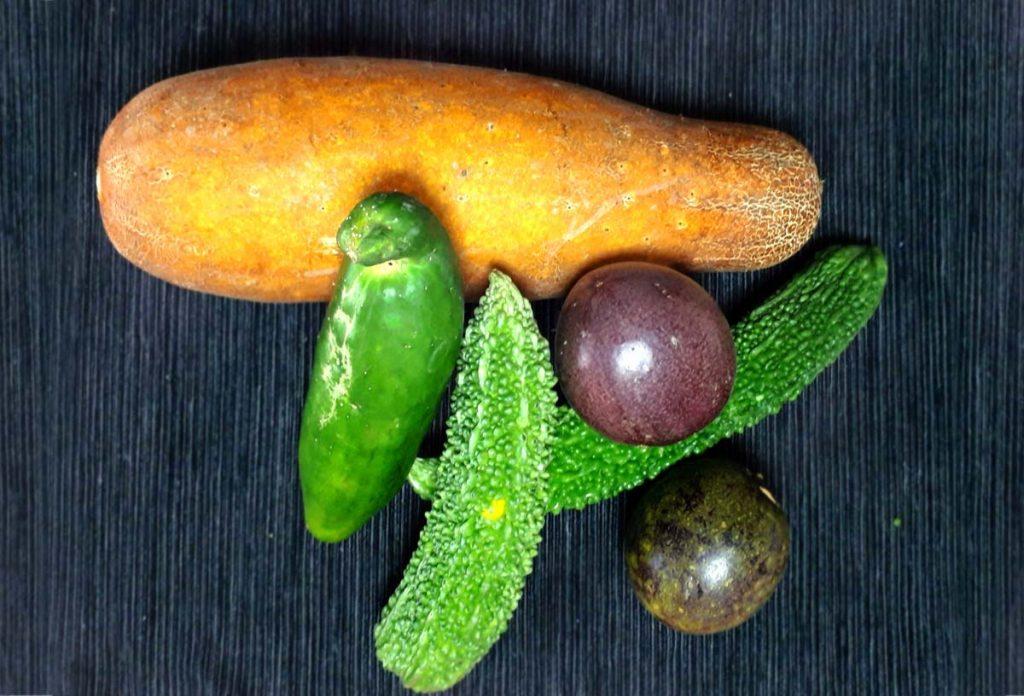 頂きものの「野菜」